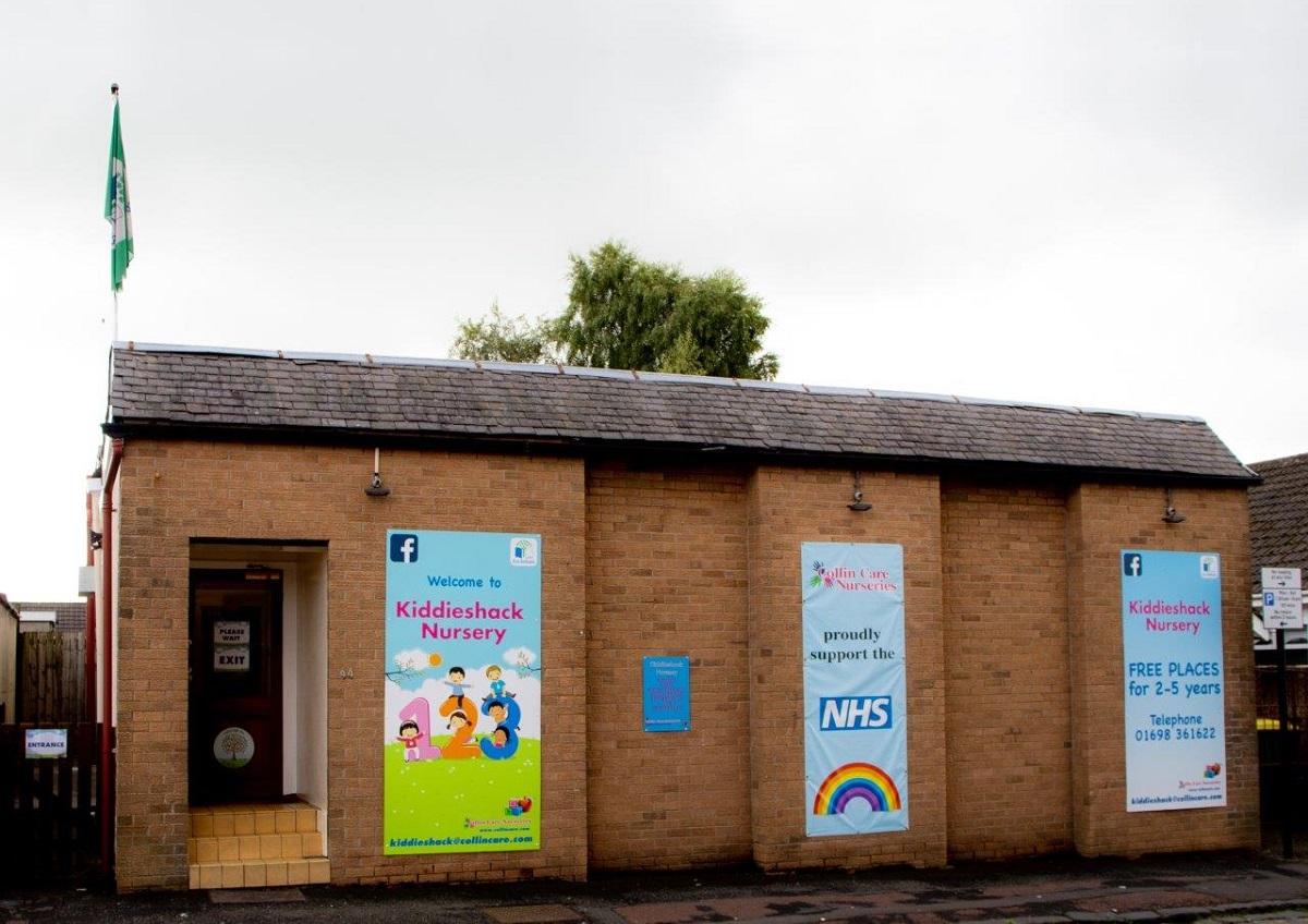 Kiddieshack Nursery Exterior