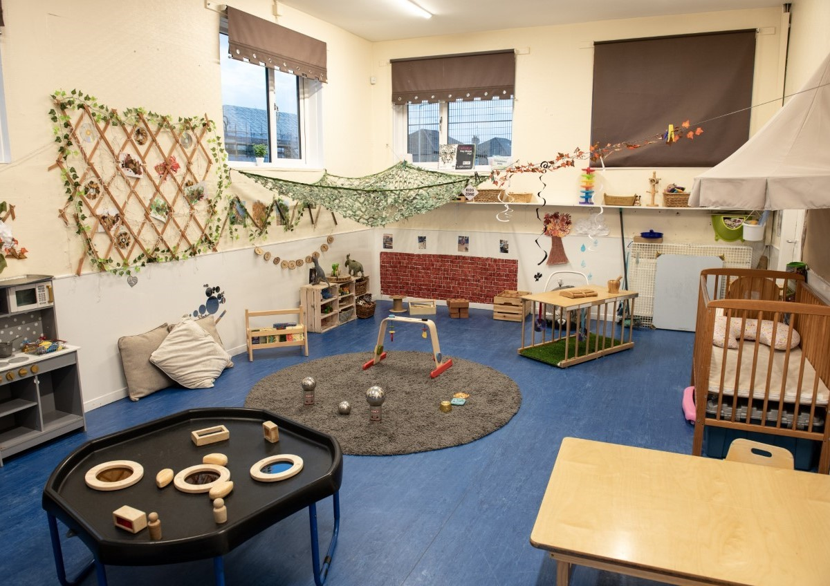 Cardonald Nursery Baby room