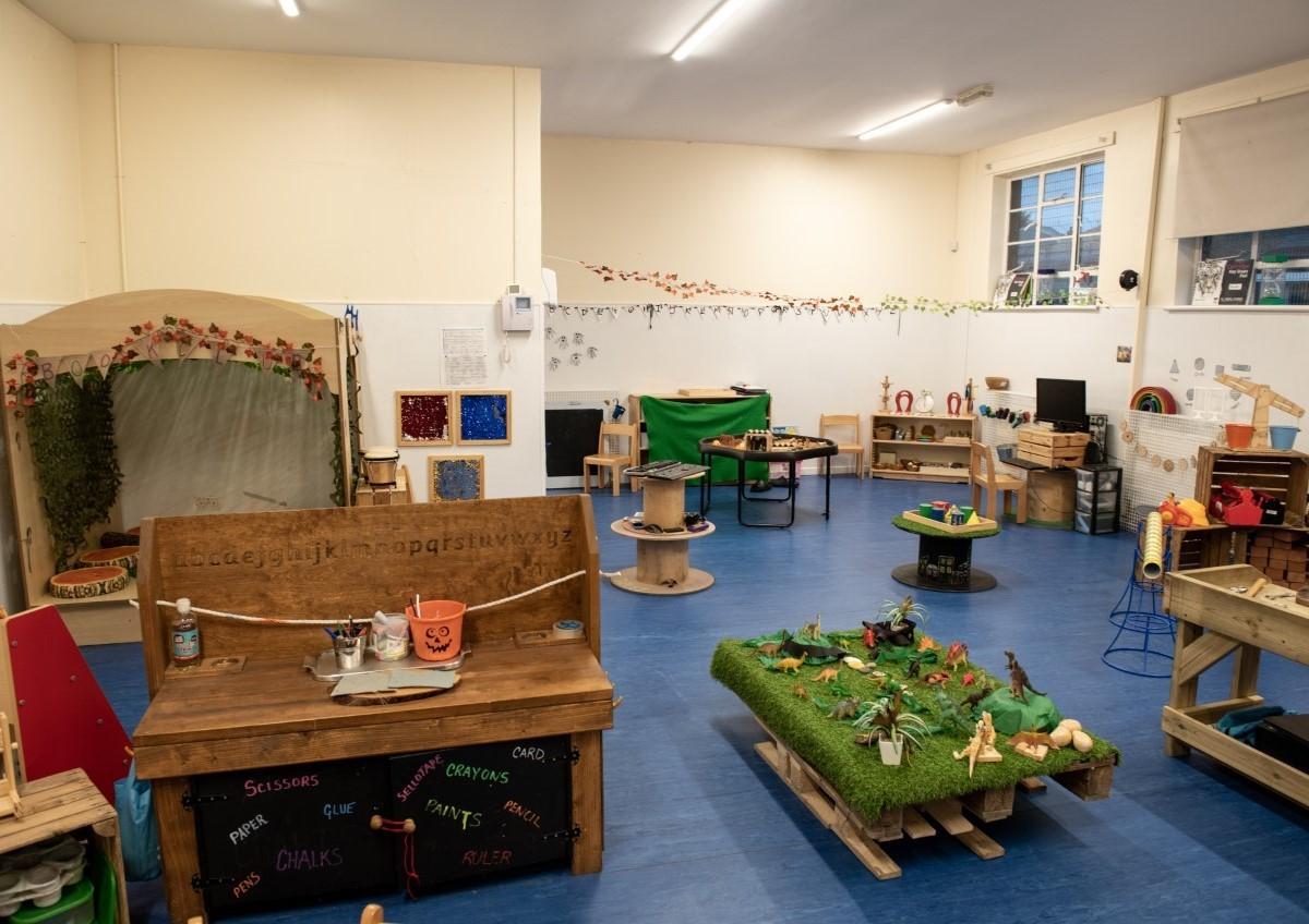Cardonald Nursery Playroom 1