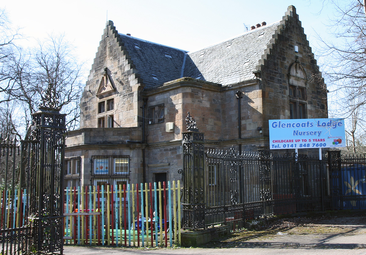 Glencoats Lodge Nursery Exterior