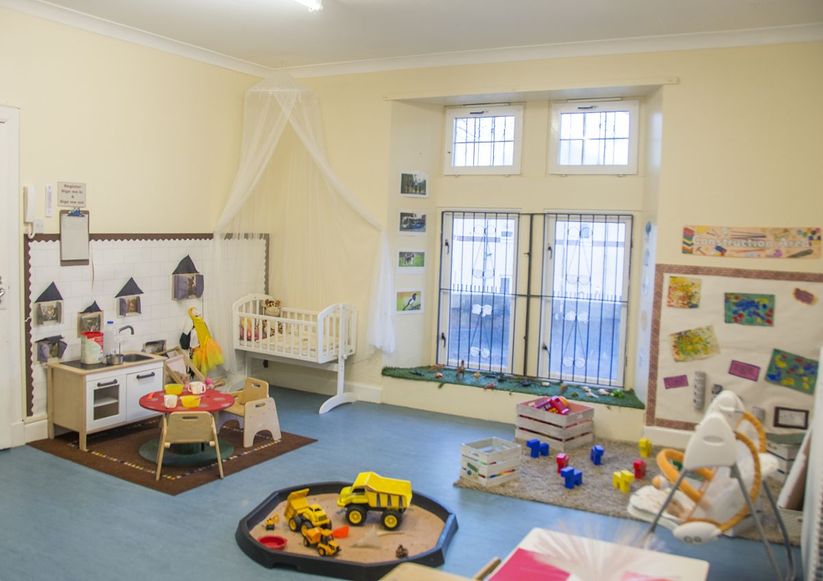 Glencoats Lodge Nursery Baby room
