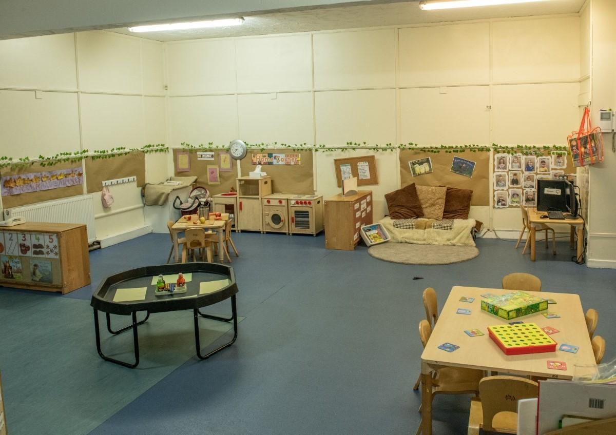 Kiddieshack Nursery 3-5 room