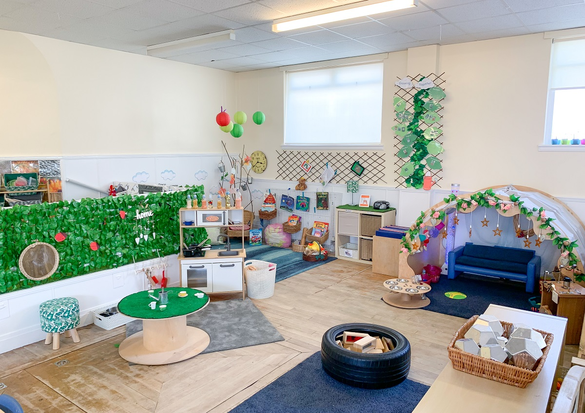 Treetops Too Nursery Playroom 1
