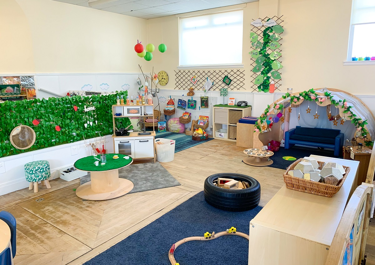 Treetops Too Nursery Playroom 2