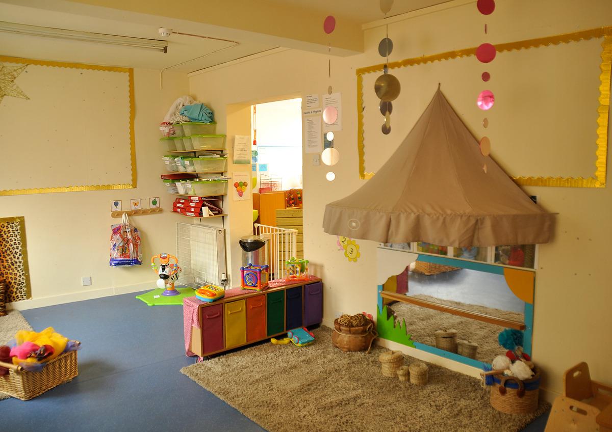 Treetops Nursery Baby room