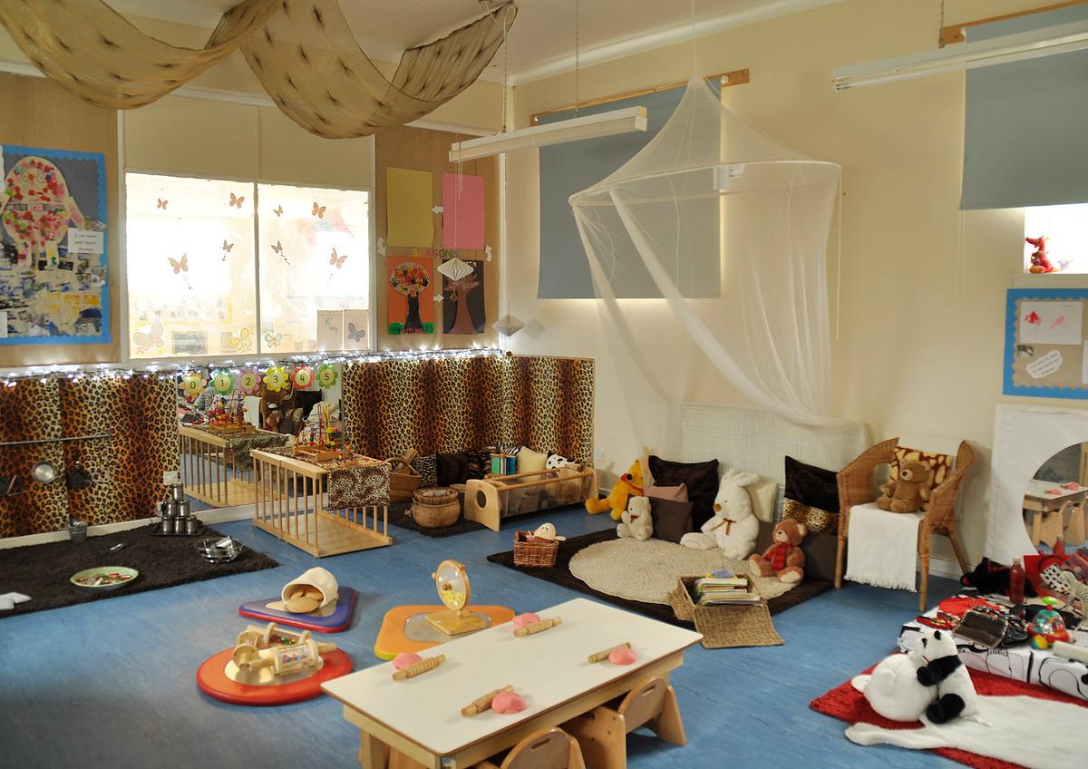 Treetops Too Nursery Baby room